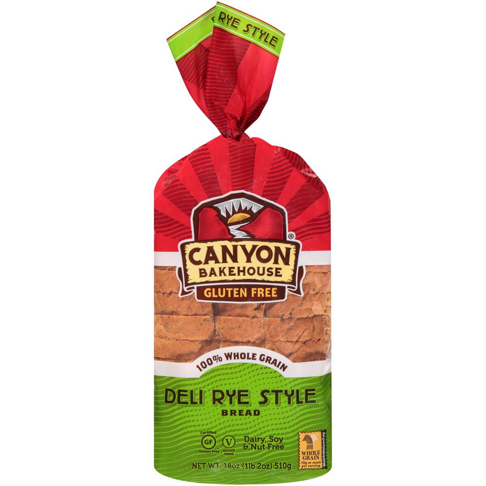 Canyon Bakehouse Gluten Free Rye Bread