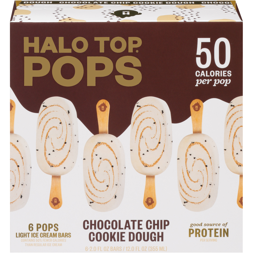 Halo Top Pop Chocolate Chip Cookie Do