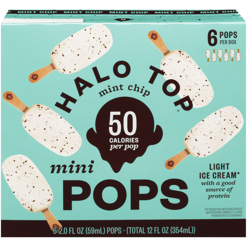 Halo Top Pops Mint Chip