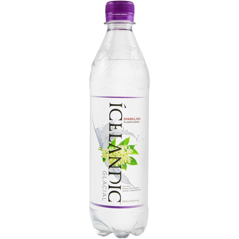 Sparkling Elderflower Water