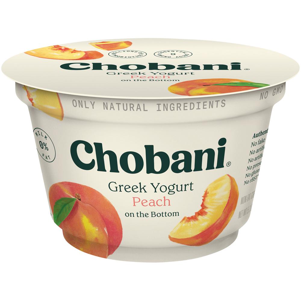 Chobani Peach Yogurt