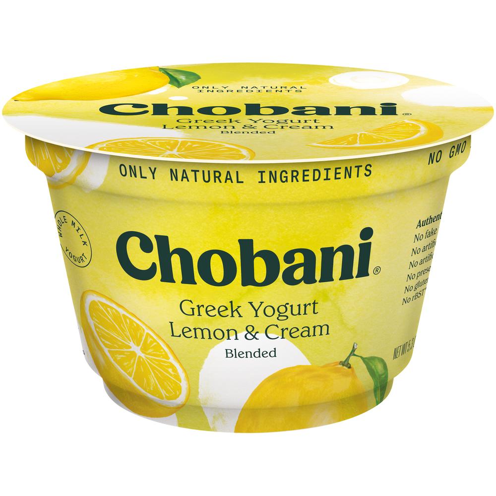 Chobani Lemon Yogurt