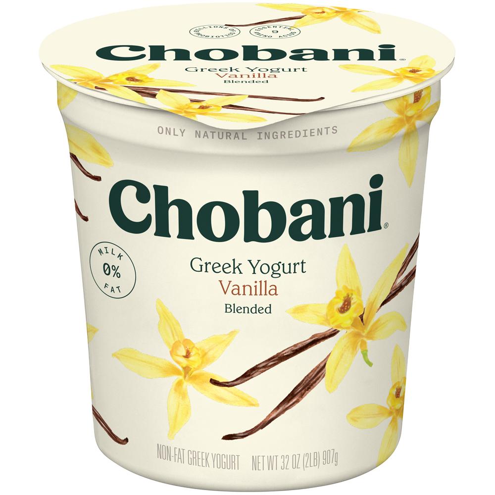 Chobani Greek Yogurt Vanilla